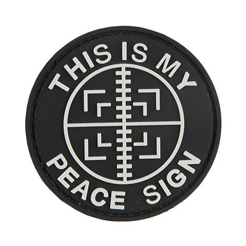 G-Force This is My Peace Sign Patch (PATCH064) / Morale Patch - Iceberg Army Navy