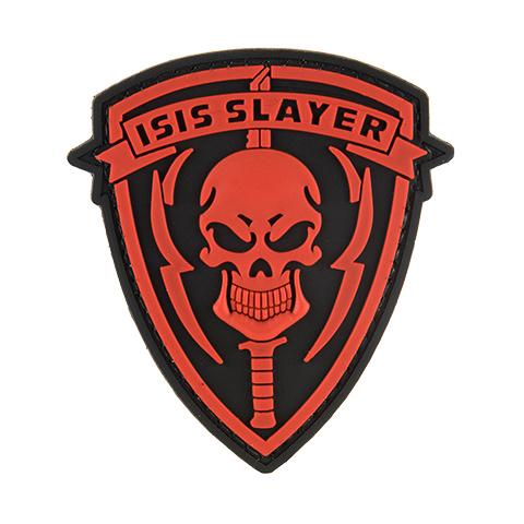 G-Force ISIS Slayer Knife and Skull Red Patch (PATCH069) / Morale Patch - Iceberg Army Navy