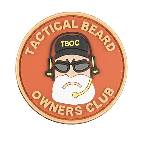 G-Force Tactical Beard Owners Club Patch (PATCH077) / Morale Patch - Iceberg Army Navy