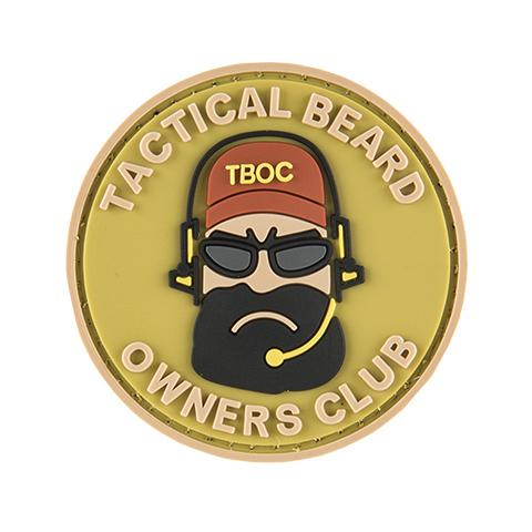 G-Force Tactical Beard Owners Club Patch (PATCH078) / Morale Patch - Iceberg Army Navy
