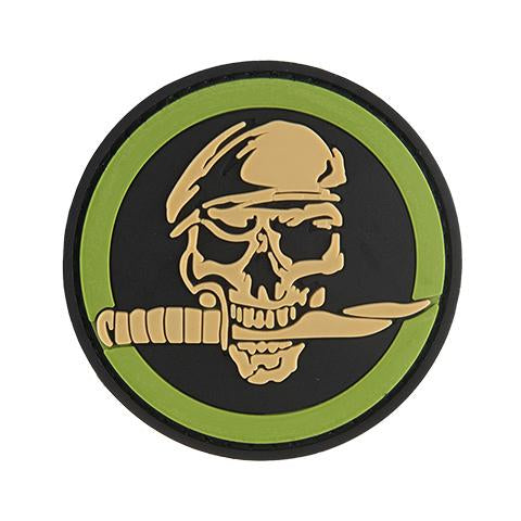 G-Force Skull and Knife Commando Patch (PATCH091) / Morale Patch - Iceberg Army Navy