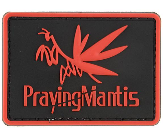 G-Force Praying Mantis Patch Red (PATCH095) / Morale Patch - Iceberg Army Navy
