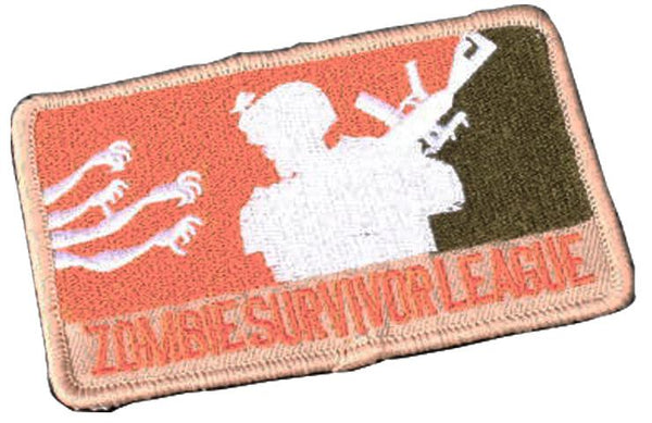 Zombie Survivor League Patch (PATCH035A) / Morale Patch - Iceberg Army Navy