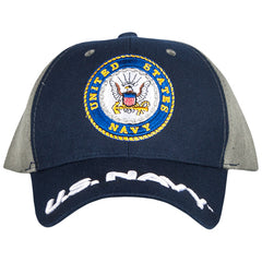 US Navy Embroidered Ball Cap (78-4011)