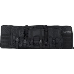 "Valken 42"" Double Airsoft Case Black (GB42DBV) / Airsoft Rifle Cases - Iceberg Army Navy"