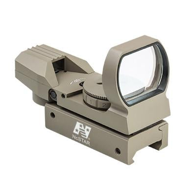 NcStar Red & Green Four Reticle Reflex Optic (D4RGT) / Reflector Sight - Iceberg Army Navy