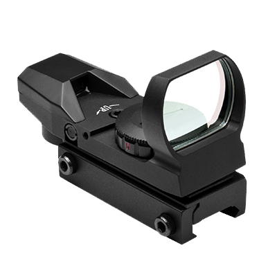 NcStar Red & Green Four Reticle Reflex Optic (D4RGB) / Reflector Sight - Totowa Airsoft