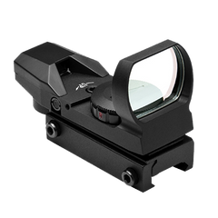 NcStar Red & Green Four Reticle Reflex Optic (D4RGB) / Reflector Sight - Iceberg Army Navy