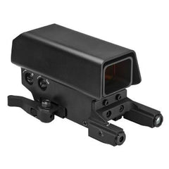 NcStar Urban Dot with Green Laser & Red/White NAV (VDSTNVRLGB) / Laser and Reflector Sight - Totowa Airsoft