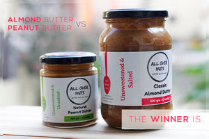 Almond Butter vs Peanut Butter