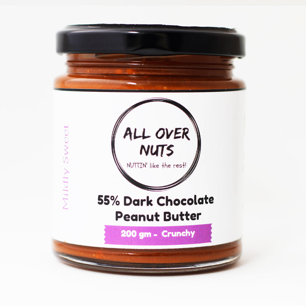 55% dark chocolate peanut butter