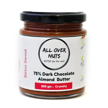 75% dark chocolate almond butter crunchy