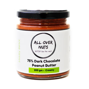 75% Dark Chocolate Peanut Butter