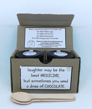 Dark Chocolate Almond Butter Gift Box - Twin Jars