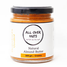 Natural Almond Butter - All Over Nuts
