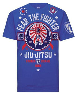 FTF Jiu-Jitsu Tshirt - Fear The Fighter
