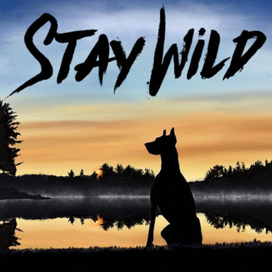 Stay Wild Pawsitive Vibes Sticker