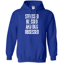 Pullover Hoodie Stressed Blessed Obsessed