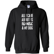 Pullover Hoodie All I Care About