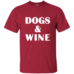 Dogs & Wine T-Shirt