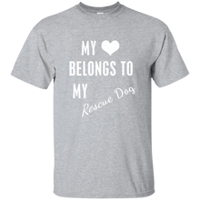 My Heart Belongs T-Shirt