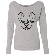 Ladies Dog Mom French Terry Scoop