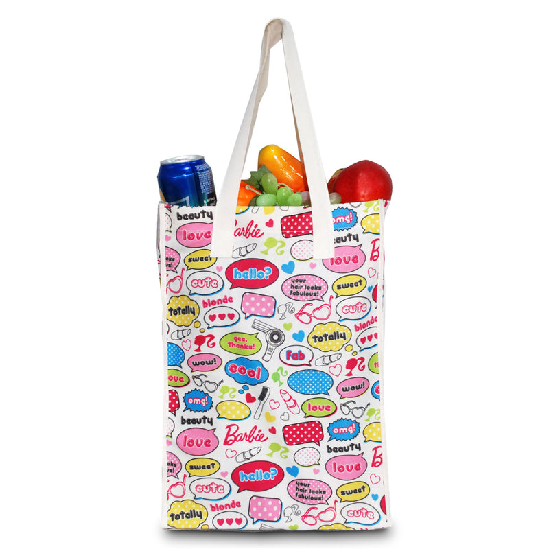 "Custom Printed 5 Oz Poly Cotton Tote Bag 11.5""W x 15.5""H x 5""G"