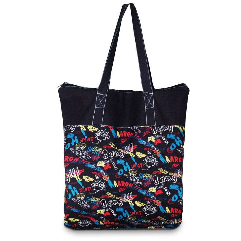 "Custom Printed 5 Oz Poly Cotton Tote Bag 15""W x 15""H x 3.25""G"
