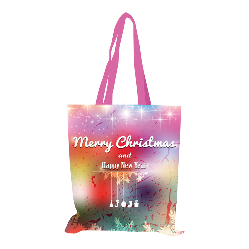 "Reusable Fabric Tote Bag With Printing - 13""W X 14""H"