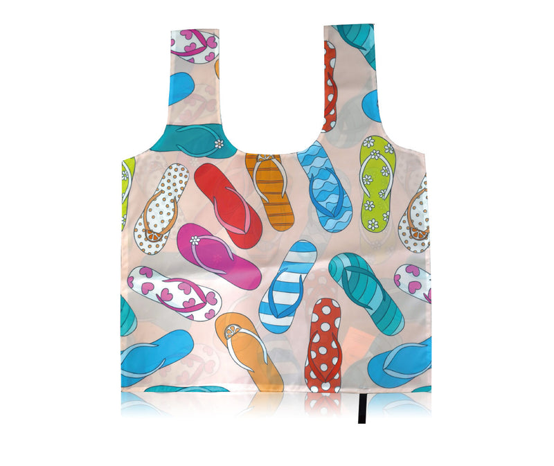 "Extra Large Foldable Tote Custom Printing - 19.5W"" X 24.5H"""