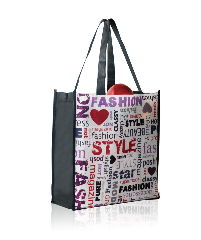 "Reusable Promotional Bags Custom Printing - 13""W X 13""H X 5""D"