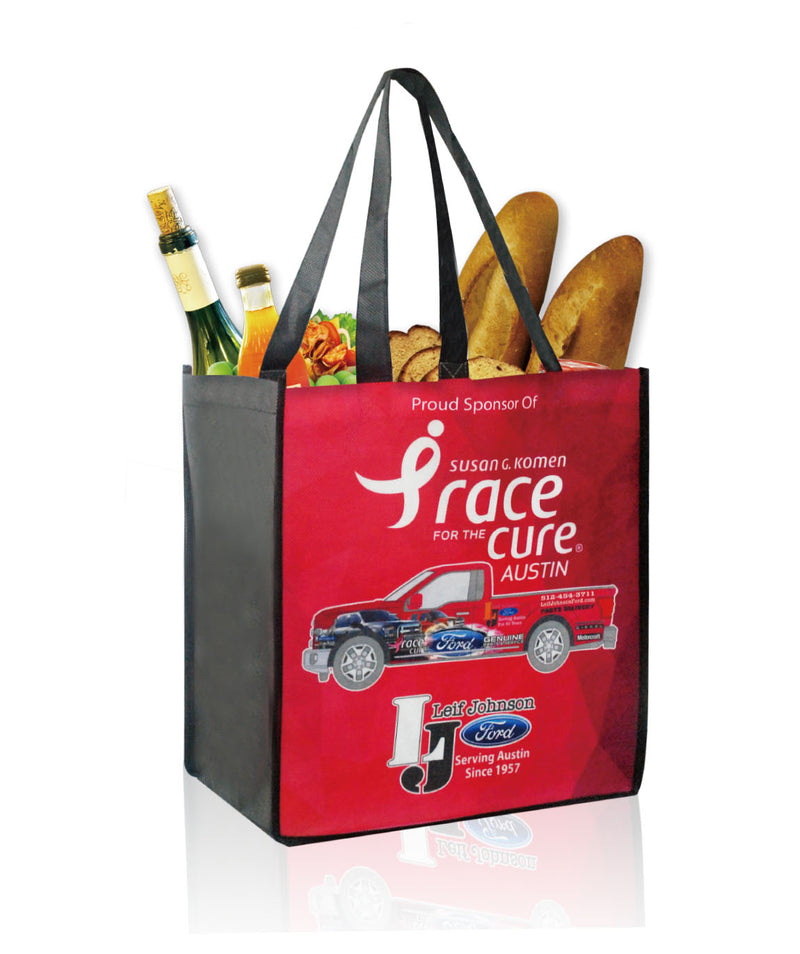 "Reusable Shopping Bags - Grocery Totes - 12""W X 13""H X 8""D"