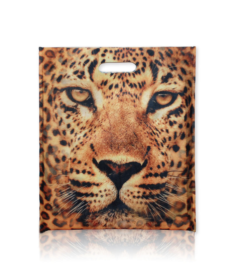 "Reusable PET Fabric Sublimation Shopping Bags - 14""W X 16""H"