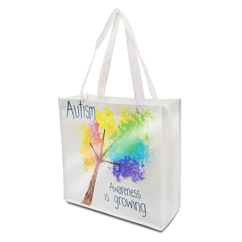 "Custom Printed Laminated PP Non-Woven Shopping Bag 13""W x 13""H x 5""G"