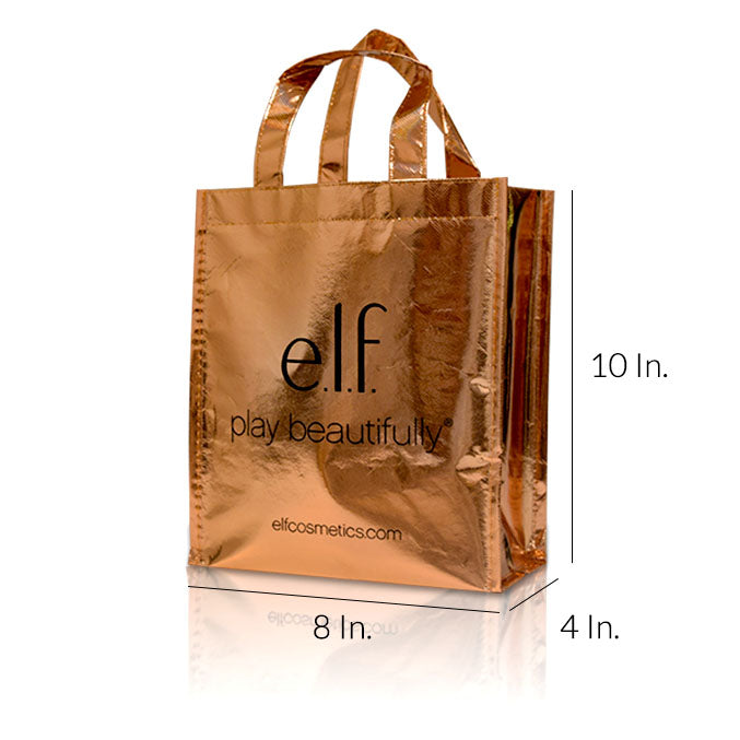 "Reusable Shopping Bags With Lamination - 8""W X 10""H X 4""D"
