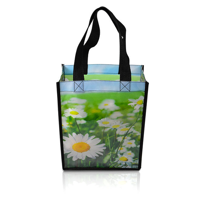 "8""W X 10""H X 4""G Custom Printed Shopping Bag"