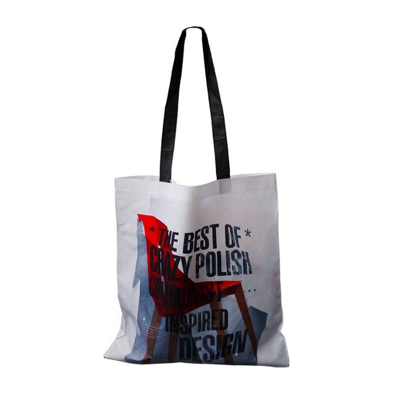 "Reusable Fabric Tote Bags With Printing - 15""W X 16""H"