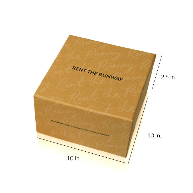 "Rigid 2 Piece Box With Base And Lid With Lamination - 10""W X 10""L X 2.5""H"