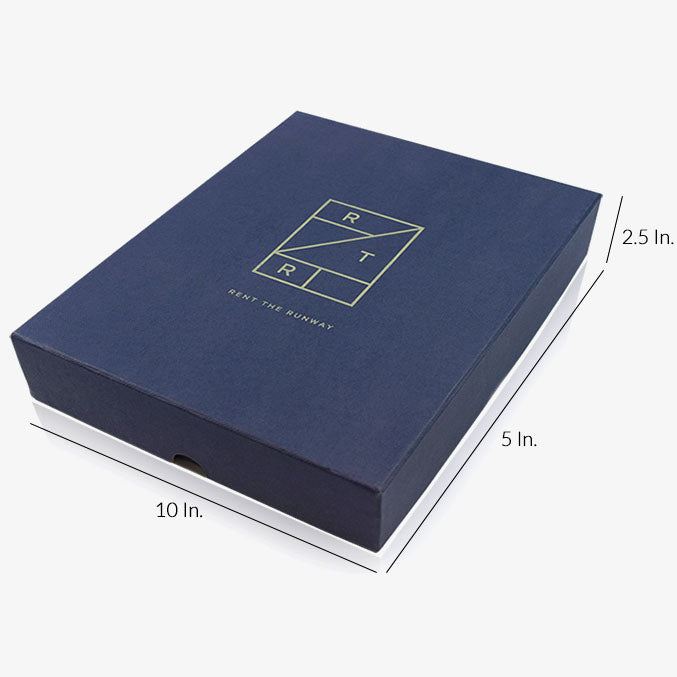 "Rigid 2 Piece Box With Base And Lid With Lamination - 10""W X 5""L X 2.5""H"