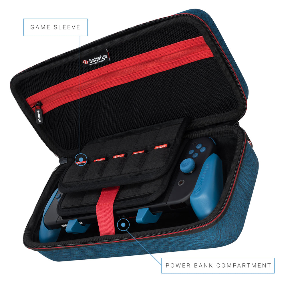 Limited Edition Nintendo Switch Elite Case to Hold Switch, Grip, Games and Accessories