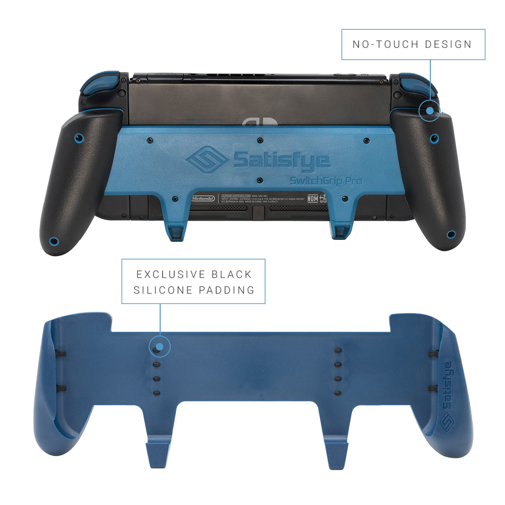 Our Nintendo Switch Grip's float technology protects Switch for hours of comfortable gameplay