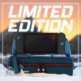 Satisyfe's Limited Edition Frost Blue Holiday Bundle for the Nintendo Switch Grip