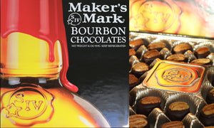 16 oz Makers Mark Bourbon Chocolates