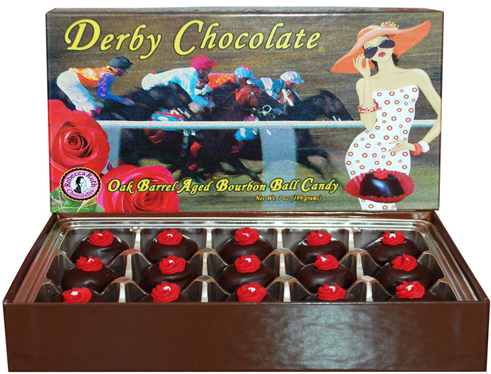 7 oz Derby Chocolate® Oak Barrel Aged Bourbon Ball Candy