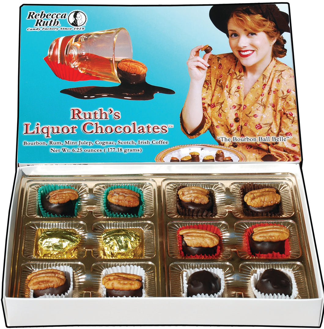 6.25 oz Ruth's Liquor Chocolates