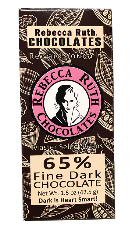 CASE PACK: 32 - 1.5 oz Rebeca Ruth Master Select 65% Dark Chocolate Bar