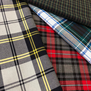 POLY/VISCOSE PLAID