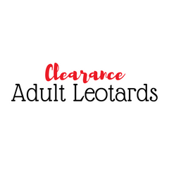 Clearance Adult Leotards