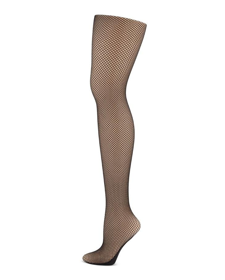 Seamed Fishnet Tights 3400