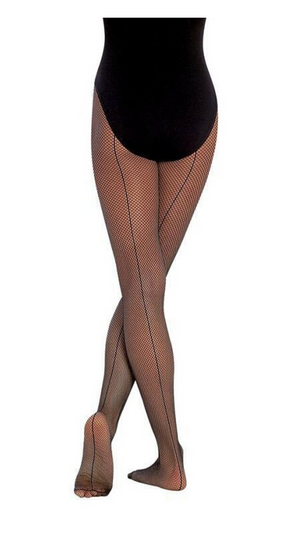Seamed Fishnet Tights C62-Child